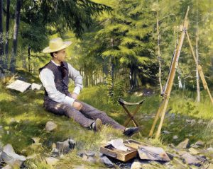 Paul_Gustave_Fischer_-_The_Artist_Painting_En_Plein_Air